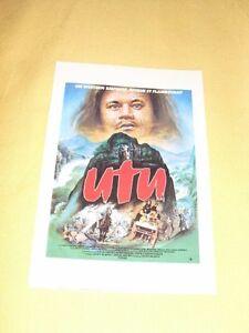 UTU-Fiche-Cinema-nouvelle-Zelande-Maori-Anzac-Wallace