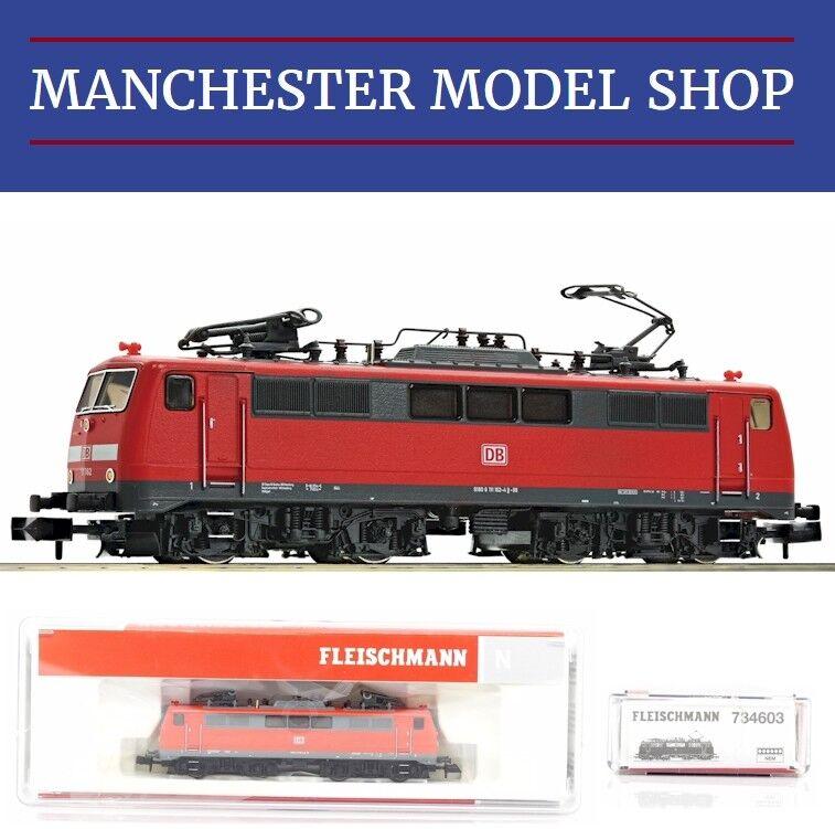Fleischmann 734603 N 1 160 Electric locomotive BR 111 DB AG VI  DCC SOCKET  NEW