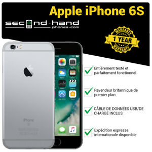 Apple-iPhone-6S-64Go-Gris-spatial-deverrouille-Bonne-qualite-Garantie-1-an