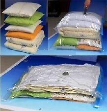 Medio viaggio Aspirapolvere Sacchetti di memorizzazione per abiti - 50x70cm-confezione da 4