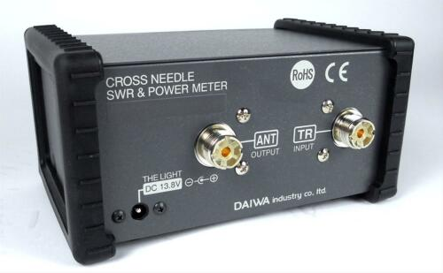 Daiwa CN-501V SWR /& Power Meter 140-525 MHz up to 200 Watts