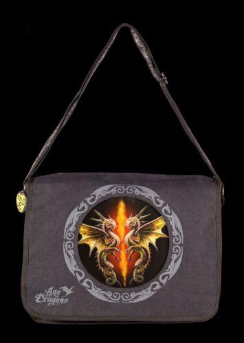 Sac à Bandoulière Avec Motif 3d-Dragon Desert Dragons-Anne Stokes Fantasy Sac