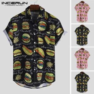 Men-3D-Print-Casual-Funny-Shirt-Short-Sleeve-Hawaii-Floral-Fancy-Shirts-Top-Tees