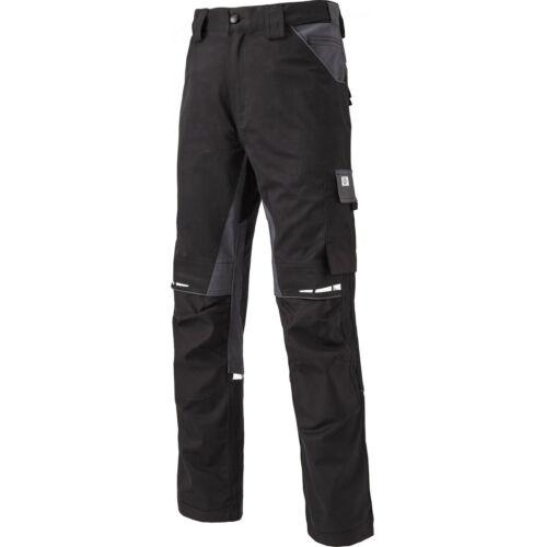 DICKIES Bundhose FLEX GDT W4901 schwarz grau Baumwolle Elasthan