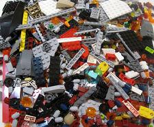 100 NEW LEGO PIECE LOT + 1 MINIFIG random brick figures movie star wars parts