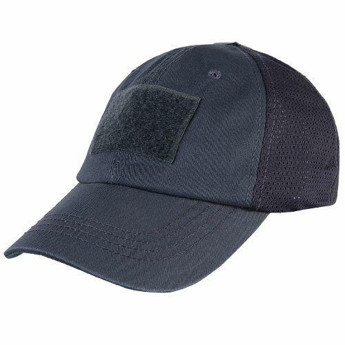 CONDOR TCM-006 Mesh Tactical Baseball Cap Cotton One Size Navy Blue