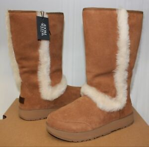 2c070834a78 Details about UGG Women's Sundance Waterproof Boots Chestnut New With Box!