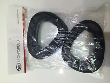NEW GENUINE LIGHTSPEED EAR PADS SEALS CUSHIONS for the 30-3G p/n A-130 1 pair