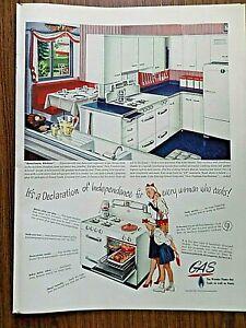 1947 American Gas Ad Appliances The Americana Kitchen