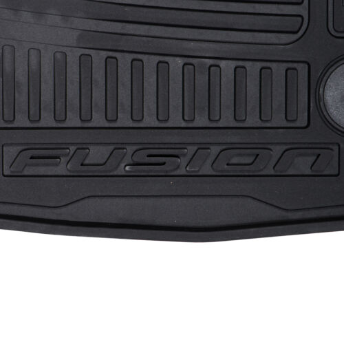 Oem Novo Dianteiro E Traseiro All Weather Floor Mats 2013-2016 Ford Fusion DS7Z5413300JA