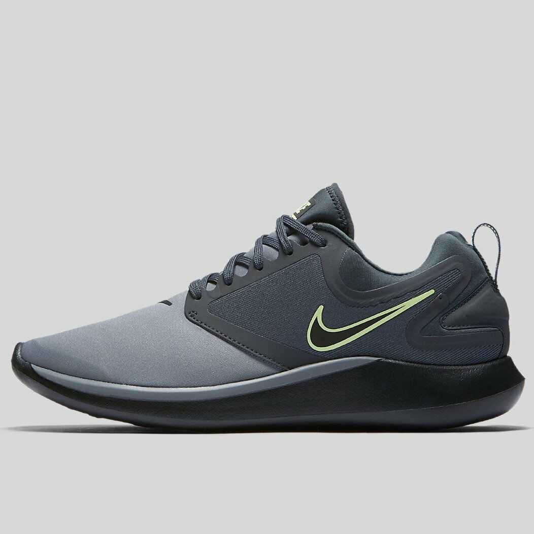 NIKE Mens LUNARSOLO COOL GREY BLACK-ANTHRACITE-BARELY VOLT AA4079-002 10' Cheap women's shoes women's shoes