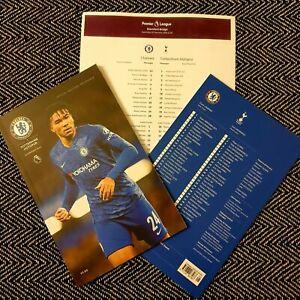 Chelsea-v-Tottenham-Hotspur-Programme-with-official-teamsheet-22-2-20
