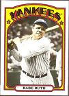 2008 Topps Babe Ruth #1 Baseball Card