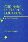 Ordinary Differential Equations: A First Course by D. Somasundaram (Hardback, 2001)