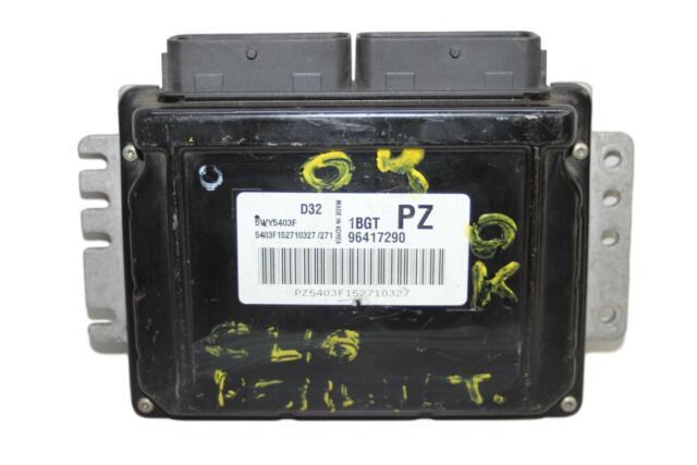 Controlador Del Motor  96417290 5WY5403F Chevrolet