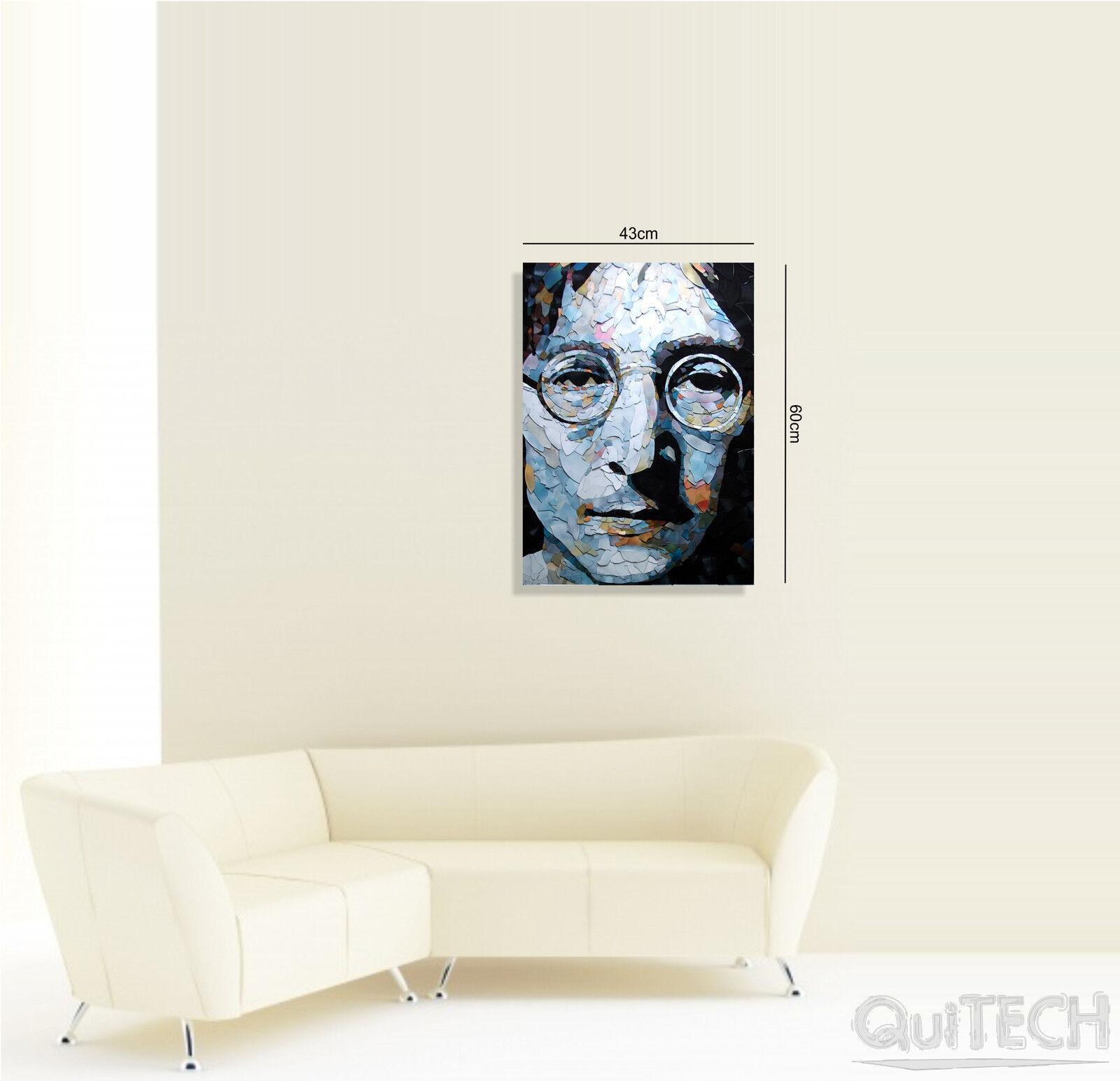 John Lennon - 14 stampa - Quadro stampa 14 su Tela Pelle Canvas Dipinto Arte Moderna 4f0f6b