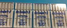 20 Schmetz Nähmaschinen Nadeln Flachkolben Nadeln - 90 / 14  Für Normale Stoffe