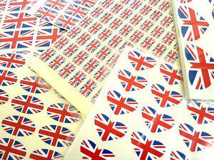 British-Union-Jack-Flag-Stickers-Great-Britain-Labels-Various-Shapes-amp-Sizes