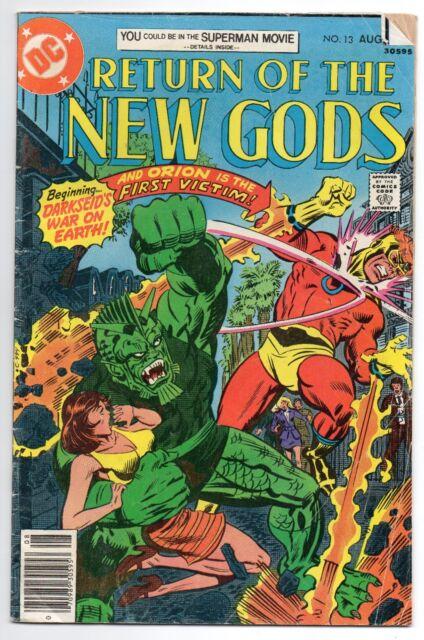 The New Gods #13 (Aug 1977, DC) VG
