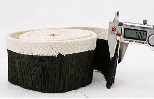 Flexible Nylon Strip Brush for Brush Vacuum Cleaner Engraving Machine Dust Cover