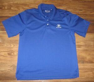 ... Campo-De-Golfe-Fox-Hollow-camisa-polo-azul- 271d9311d475e