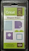Cricut Elegant Edges Art Cartridge Accent, Book, Frames, Borders Sealed