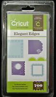 Cricut Elegant Edges Art Cartridge Accent, Book, Frames, Borders Sealed
