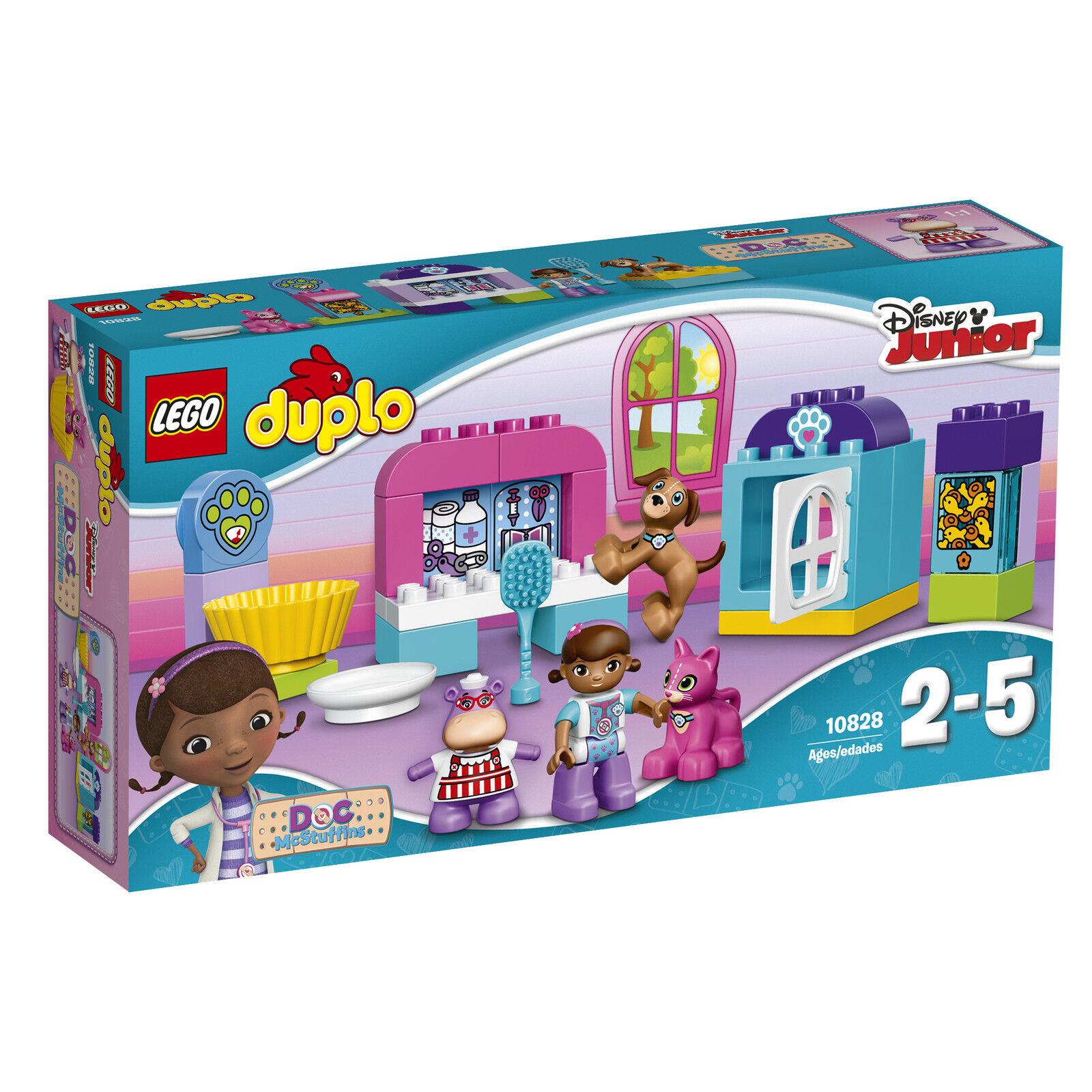 LEGO ® DUPLO ® 10828 soin des animaux salon nouveau neuf dans sa boîte _ Doc Mcstuffins 'Pet Vet Care New En parfait état, dans sa boîte scellée