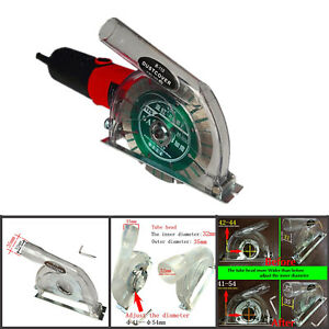 """Clear Cutting Dust Shroud Grinding Cover for Angle Grinder 3/""""//4/""""//5/"""" Saw Blades !"""