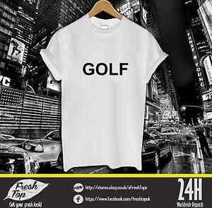 Golf wang t shirt tyler the creator wolf donuts huf for Golf wang flame shirt