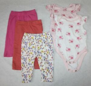 Trousers & Shorts Baby George Baby Pink Leggings Bnwt Age 3-6 Months
