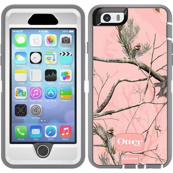 reputable site 5aabf 3d1fd OtterBox Defender Series Realtree Pink Camo Case iPhone 6 / 6s