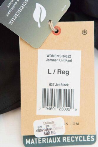 XL Royal Robbins Women/'s   Black Jammer Knit Pant Large
