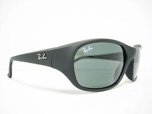 17e9a955f0 new RAY BAN DADDY-O Sunglasses RB2016 W2578 Matte Black   Green 59mm ...