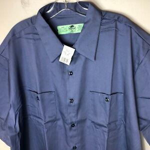Red Kap Mens Wrinkle Resistant Work/Shirt