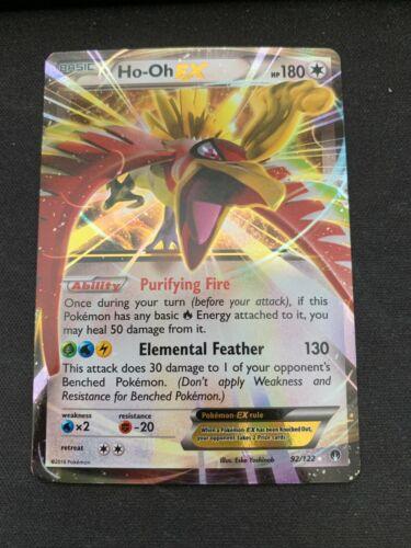 Pokemon Ho-Oh EX 92//122 Holo Ultra Rare BREAKpoint Near Mint