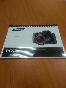 samsung nx11 14 6mp digital camera printed guide instruction manual rh ebay com samsung galaxy camera instruction manual samsung camera instruction manuals