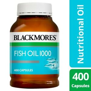 NEW-Blackmores-Healthy-Nutritional-Omega-3-Source-Fish-Oil-400-Capsules-1000g