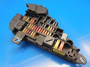 BMW E60 E61 E63 E64 OEM Rear Fuse Box/ Power Distribution Box (GREAT ...