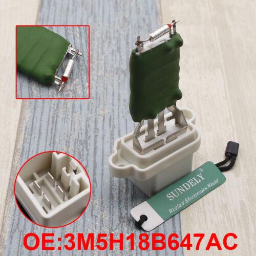 4 Pin Heater Blower Motor Fan Resistor 1325972 For Ford Focus Fiesta MK6 Mondeo