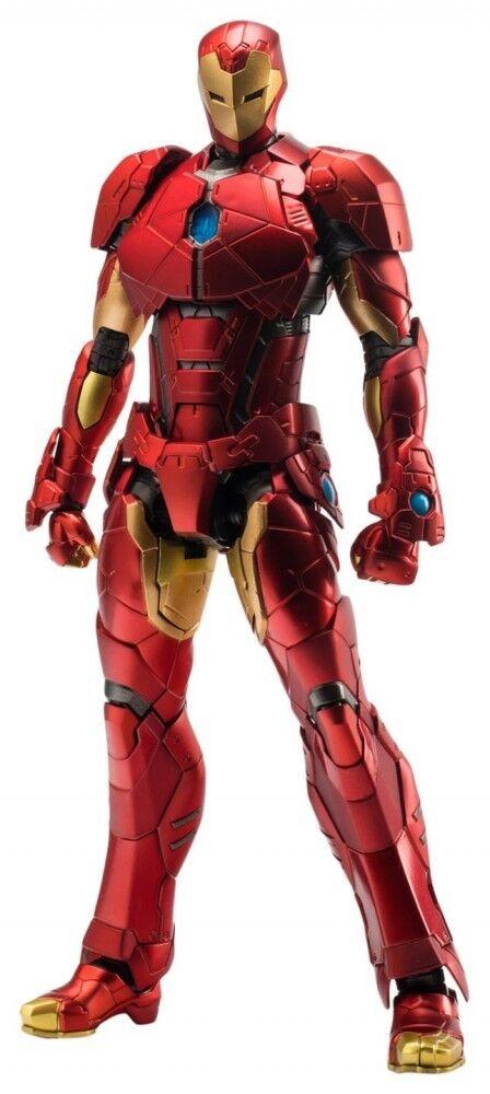 RE EDIT IRON MAN 08 Shape Changing Armor Action Figure Sentinel PVC & ABS Figure