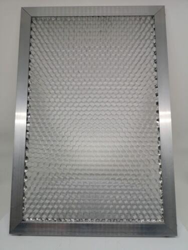 Aluminum Honeycomb /& frame 15mm,6,5mm CO2 Laser 600x400mm Wabengitter /& Rahmen