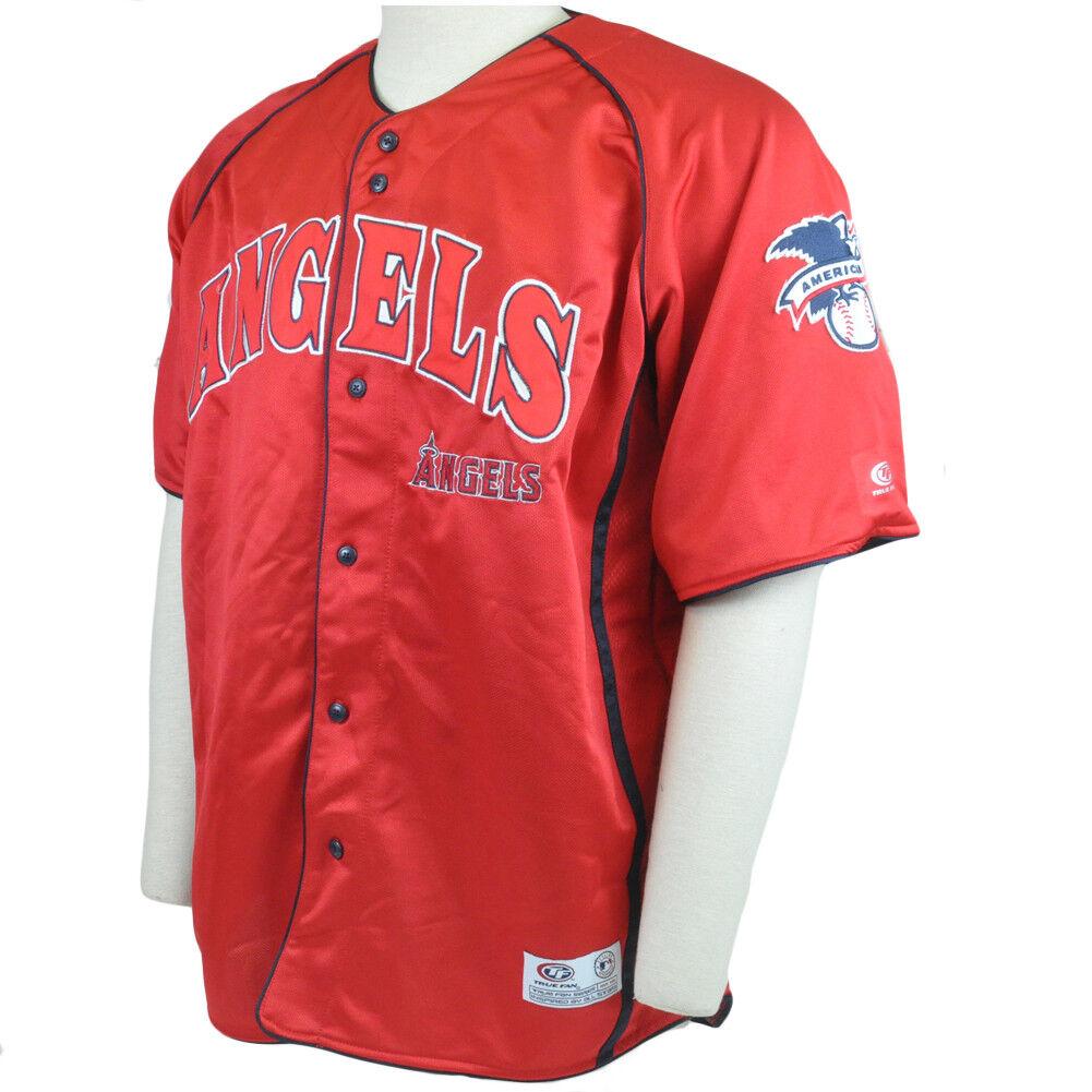 MLB La Los Angeles Angels Angels Angels Echt Fan Lizenz Leicht Baseballtrikot XL XL 6ab78f