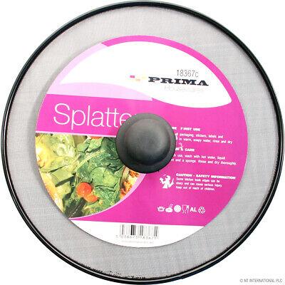 Fine Mesh PREMIUM SPLATTER GUARD Frying Pan Cover Screen Anti Oil Splash Metal