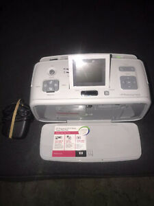 HP Photosmart A616 Digital Photo Inkjet Printer TESTED!!