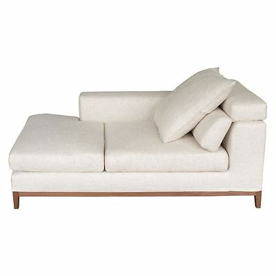 NEW SydneySide Oslo Cream Left Compact Chaise SY723CH61JLMZANUI