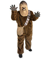 """Star Wars Kids Deluxe Chewbacca Costume,med, Age 5 - 7, Height 4' 2"""" - 4' 6"""""""