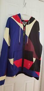 Nike Kyrie Full Zip Basketball Hoodie AOP Multi-Color BV9285-657 Size Large
