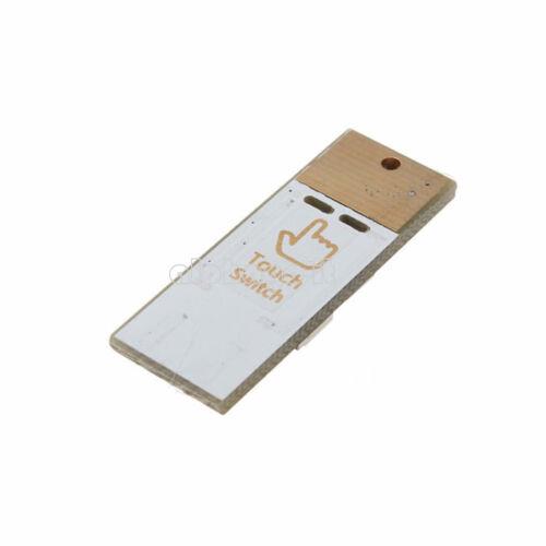 2PCS 4 LED Night Light Card Lamp Keychain White Pocket Mini USB Touch switch S