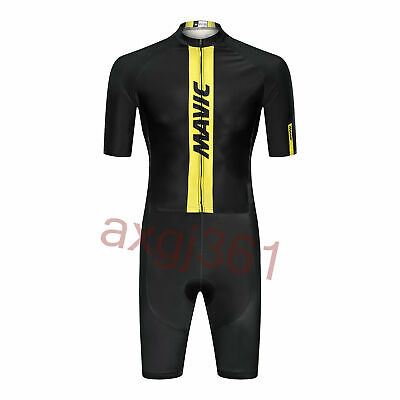 KJX4760 Road Racing Cycling Skinsuit Jumpsuit Conjoined Padded Size S//M//L//XL//XXL